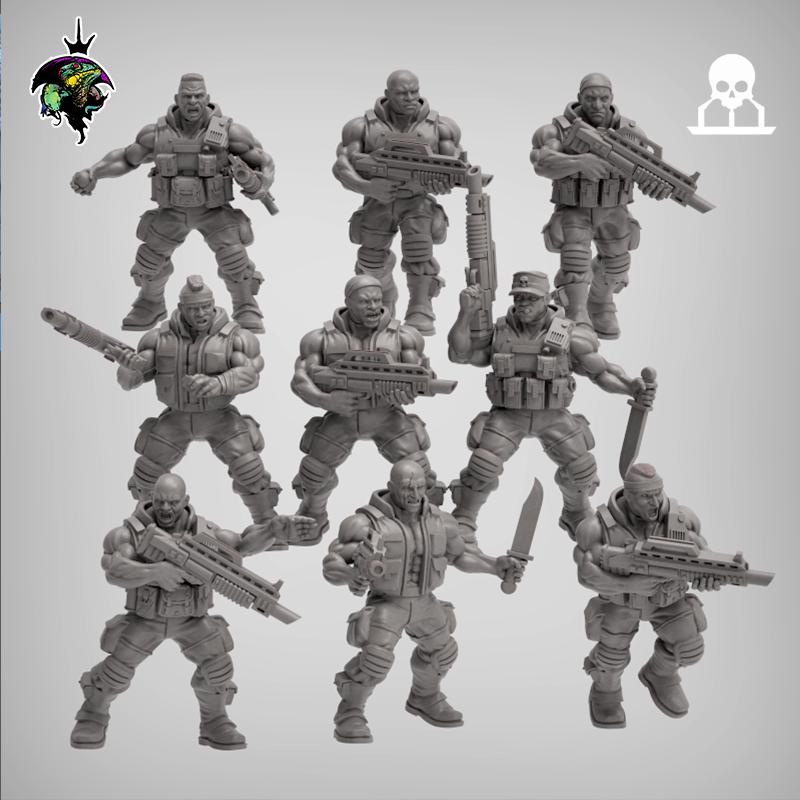 space nam infantry set