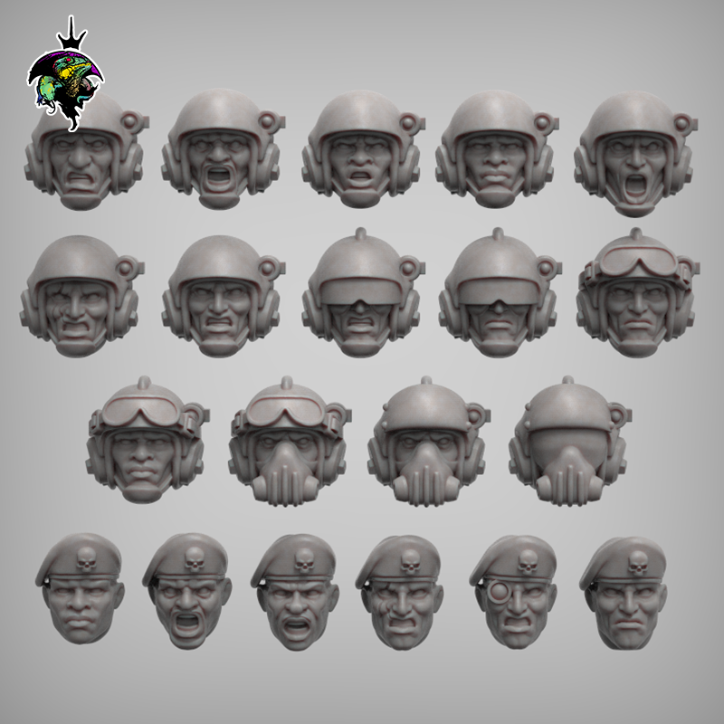 spacenam heads